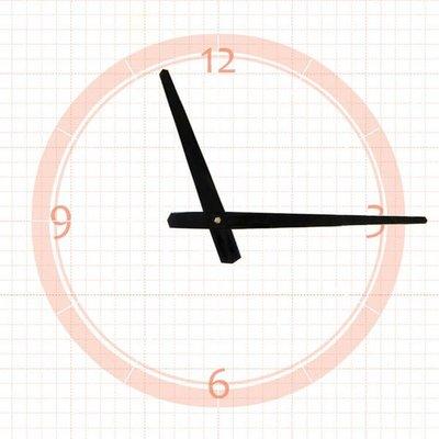【鐘點站】 J150111 SKP壓針機芯 / 分針15公分 時針11.1公分 / DIY 時鐘 掛鐘 鐘針