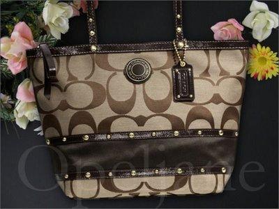 Coach Bag 鉚釘經典款托特包側肩背包購物包49292 25362 25051 25123 免運費 Coach包包
