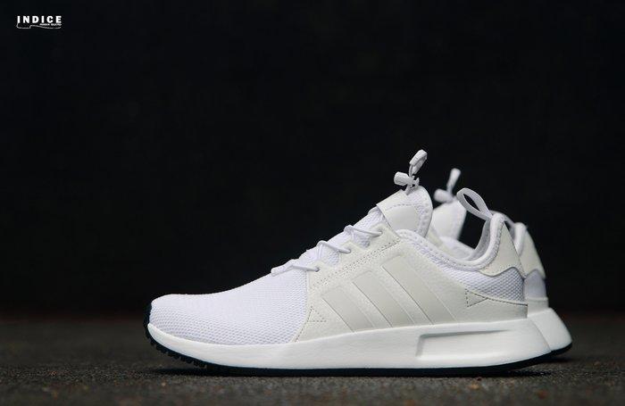 INDiCE ↗ Adidas Originals X_PLR J BB2578 女性運動休閒鞋 簡約白