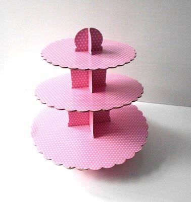 全新品 3 Tier Cupcake Stands 三層杯子蛋糕架