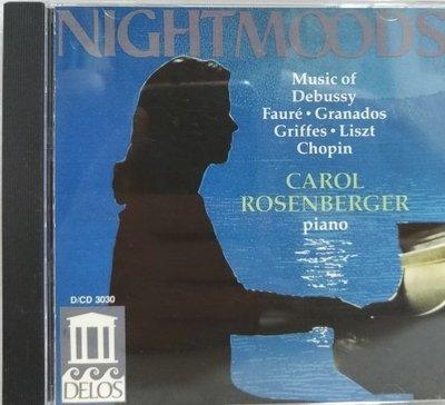 CAROL ROSEENBERGER NIGHT MOODS - 美版 無IFPI