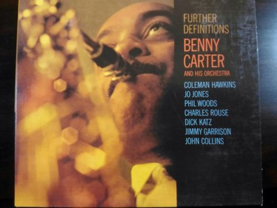 Benny Carter ~ Further Definitions。