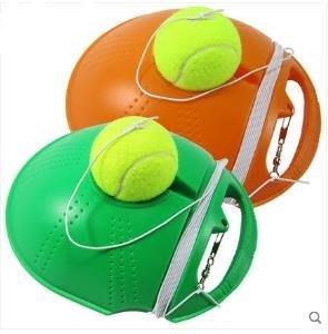 【網球訓練器底座-ABS-1套/組】網球練習器 須灌水或沙1個底座+1個球(不帶LOGO)+1個防纏鉤-56007