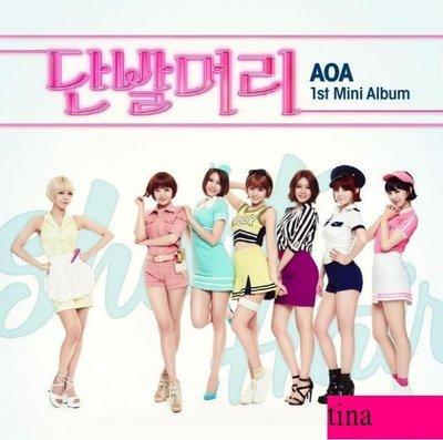 雪炫智珉惠晶澯美酉奈珉娥AOA Mini Album Vol. 1韓國原版第一張迷你專輯-短髮贈照片卡全新Fantasy