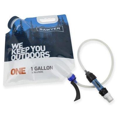 【Sawyer】 SP160 一加侖瀘水組 水袋+MINI濾水器 3.78 公升 106g 大開口