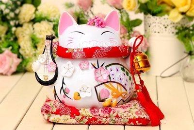 INPHIC-開運 日本招財貓大型陶瓷儲蓄罐存錢罐擺飾開業金色車擺設家居擺飾送朋友禮物