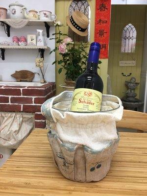 《鄉村童話》Many 布作 香檳桶 冰桶 附手作布套 壓克力 置物桶