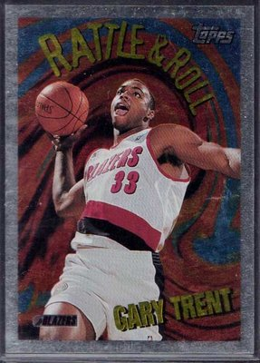 95-96 TOPPS RATTLE &ROLL #R8 GARY TRENT RC