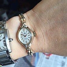 古董表WALTHAM二手機械表鑽石14k注金 老物件 二手手表