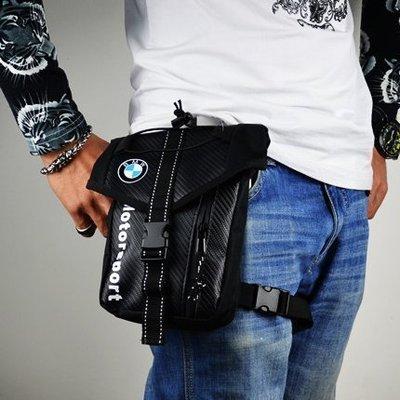 BMW 寶馬 摩托車防水腿包 騎士腰包 挎包 騎士包 機車包 手機零錢證件包 機車騎行包 背包 騎士包 零錢包 手機包