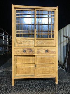 3菜櫥 展示櫃 檜木菜櫥 檜木書櫃 書櫃 林衝浪私倉聊