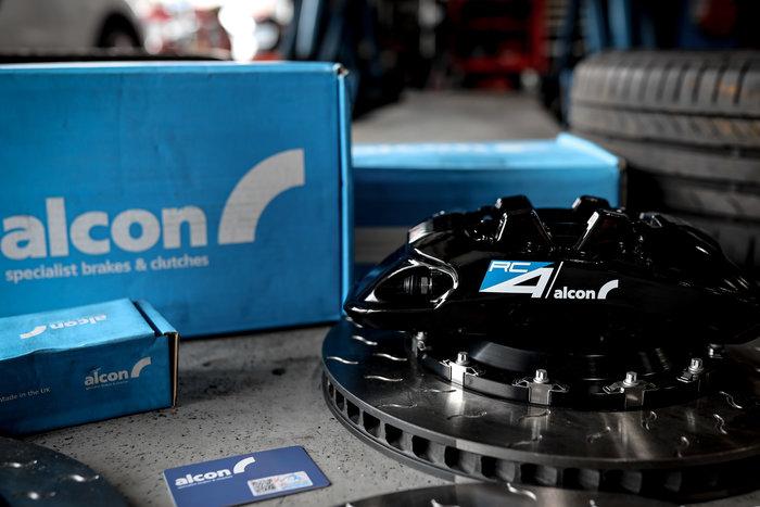 德朋國際 /公司貨 Peugeot 5008 GT 專用 ALCON RC4  四活塞卡鉗 制動升級 各車系皆可詢問