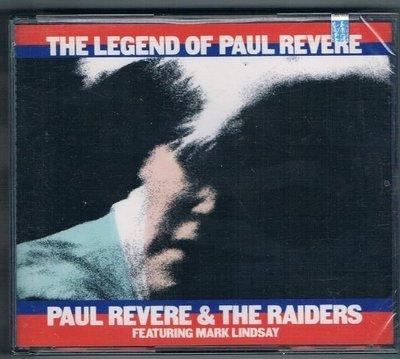 [鑫隆音樂]西洋CD-THE LEGEND OF PAUL REVERE / PAUL REVERE & THE RAIDERS /原裝進口盤