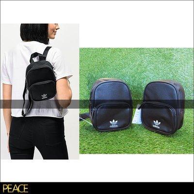 【PEACE】美國限定 Adidas Originals Faux Leather Mini 迷你 皮革 皮質 後背包