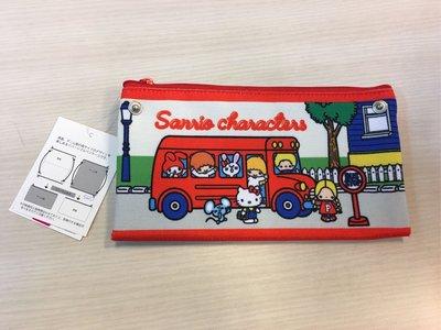 日本Sario characters Bus系列雙袋萬用袋