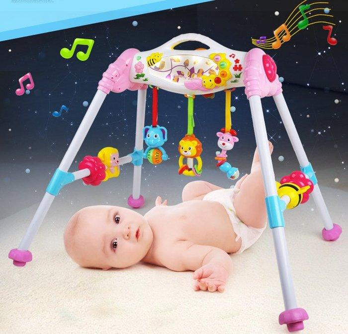 【好孩子福利社】紐奇嬰兒健身架 寶寶1-2-3歲健身器 兒童6-12個月 新生兒音樂玩具
