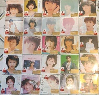 日版全新已絕版 --- 松田聖子 ~~ EP復刻CD25枚 コンプリート --- 整套出售