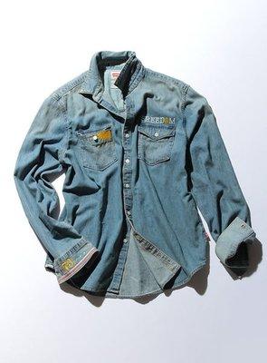 【日貨代購CITY】日版 LEVIS Safari CUSTOMIZE 14 S/S 丹寧 牛仔 襯衫 刺繡 限量 65884-0002C 現貨
