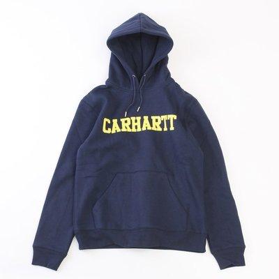 Cover Taiwan 官方直營 Carhartt 帽Tee 帽T 大學T 連帽衛衣 藍色 藏青色 黃色 (預購)