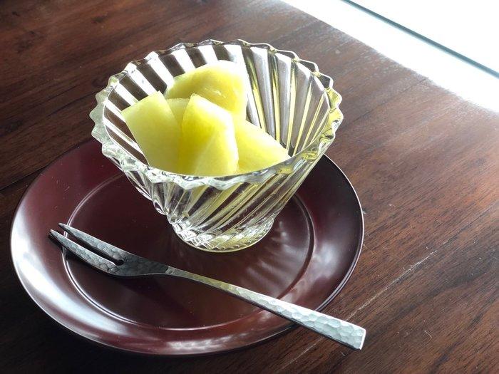發現花園 日本選物~日本製 和風生活禪   槌目 手感  不鏽鋼 ~叉子 和果子叉  水果叉