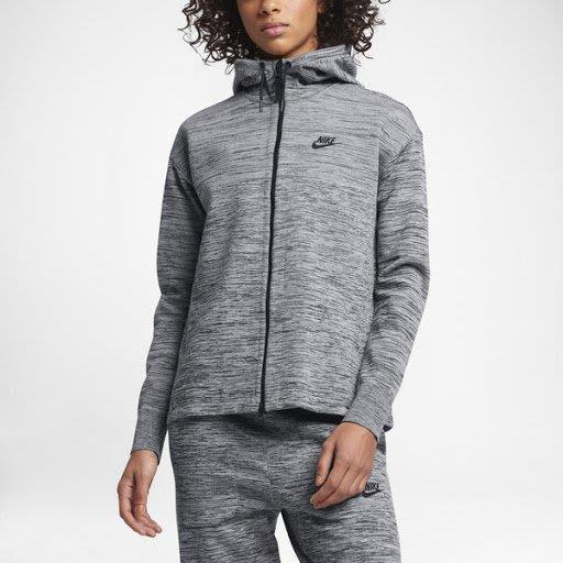 限時特價2折 現貨 南 2019 5月 Nike Tech Knit 編織 灰色 連帽運動外套 835642-060
