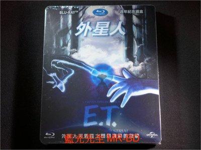 [藍光BD] -ET外星人 E.T. The Extra-Terrestrial 20週年限量鐵盒版 ( 傳訊公司貨 )