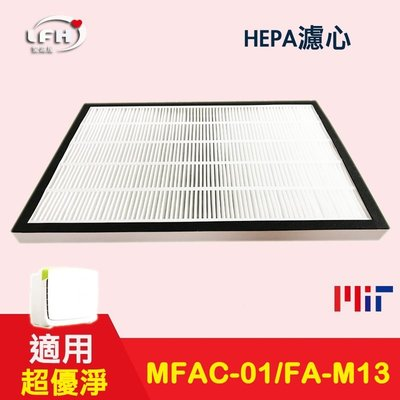 【LFH HEPA濾心+濾網】 適用 3m 淨呼吸 超優淨 FA-M13 M13-ORF MFAC-01F空氣清淨機 適