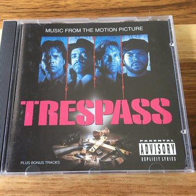 [老搖滾典藏] Trespass(入侵蛇頭堡) 美版電影原聲帶