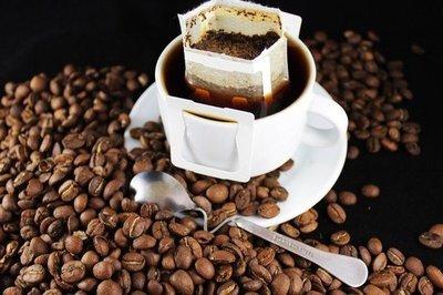 永康黃金曼巴咖啡-濾掛式手工現磨(裸裝10公克掛耳式咖啡30包 / 鋁箔量販包) 特價360元