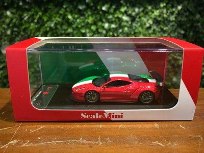 1/64 ScaleMini LB-Works Ferrari 458 Italian SM6400101【MGM】