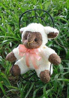 小綿羊娃娃布偶 : 綿羊 娃娃 絨毛 個性 收藏 裝飾 布偶 家飾