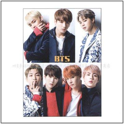 K-POP Market。韓國進口 防彈少年團 BTS 正韓版 12張大尺寸海報 + 大尺寸貼紙組