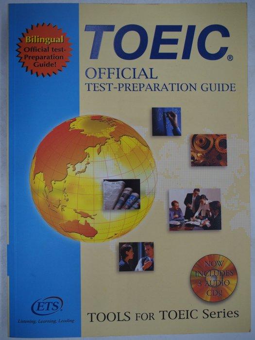 【月界】TOEIC OFFICIAL TEST-PREP ARATION GUIDE-含3CD(絕版)〖語言考試〗AEP