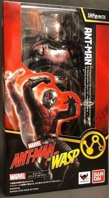 全新 SHF S.H.FIGUARTS MARVEL 蟻人與黃蜂女 ANT-MAN 蟻人 2.0