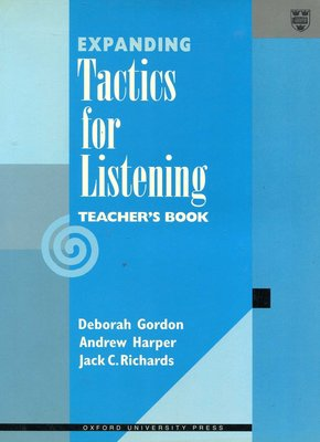 Expanding 《Tactics for Listening》Teacher's Book