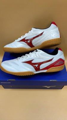【小黑體育用品】美津濃 CROSSMATCH CN3 女桌球鞋 輕量 基本型 白紅81GA183662 零碼降價出清