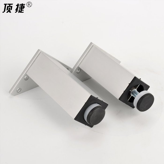 小花精品店-可定制高度茶幾腳床腳電視柜腳支撐腳腿可調節家具腳鋁合金四方形