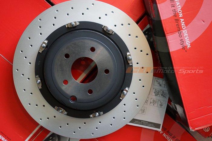 義大利 BREMBO 原裝進口 OE原廠規格制動盤 NISSAN GT-R R35 前.後皆有對應 歡迎詢問 / 制動改