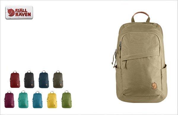 WaShiDa【KN26051】FJALLRAVEN × Kanken RAVEN 20L 15吋 筆電背包 素面 設計