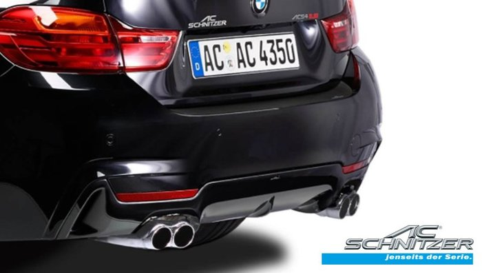 【樂駒】AC Schnitzer BMW 4er F32 F36 後擾流 後下巴 外觀 空力 改裝 套件