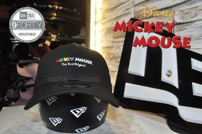 New Era x Disney Mickey Mouse 9forty 經典米老鼠鴨舌帽2020年新款
