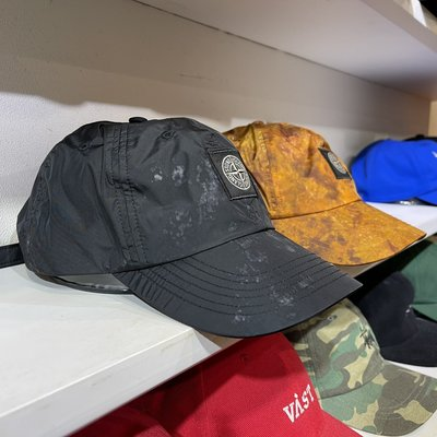 ☆LimeLight☆ Supreme x Stone Island Quilted Nylon 6-Panel 帽子