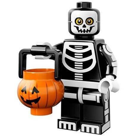 現貨【LEGO 樂高】益智玩具 積木/ Minifigures人偶系列: 14代人偶包抽抽樂 71010   骷髏