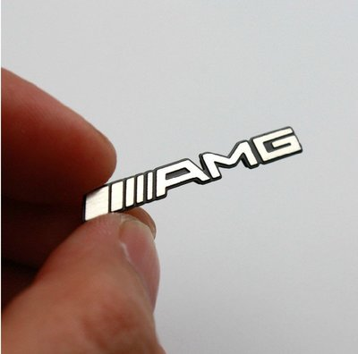 賓士 BENZ AMG 標誌 B柱 方向盤 貼飾  w202 w203 w204 w210 w211 w212 w220 w221