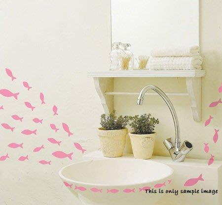 【皮蛋媽的私房貨】韓國壁貼&壁紙*室內設計/裝飾*粉紅小魚