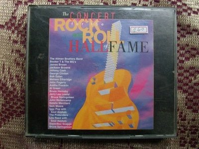 CD~Rock And Roll Hall Of Fame-The Concert(二張一套).收錄Bob Dylan/Allmam Brothers