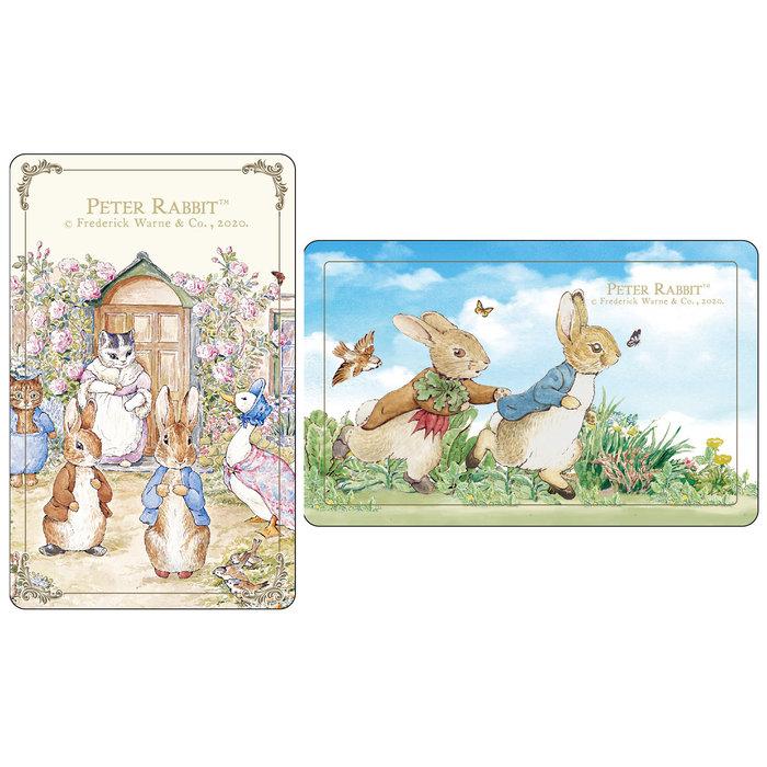PETER RABBIT比得兔世界款&跑兔款悠遊卡(2張不分售)