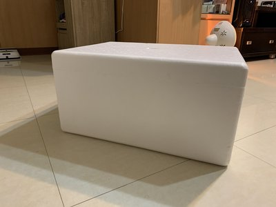 達人古物商《其它》保麗龍盒 保麗龍箱 保冰箱 無孔 有蓋子【外徑:45x63x32】限面交