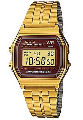[ㄚ寶3C ] CASIO A159WGEA-5 復古風潮的方形經典電子錶.(附台灣原廠保證書) 台南市