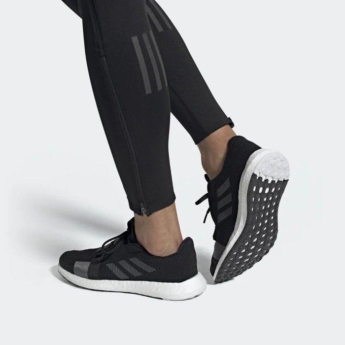南◇2019 11月  ADIDAS LIFESTYLE SENSEBOOST F33908 黑白  運動休閒鞋 男鞋